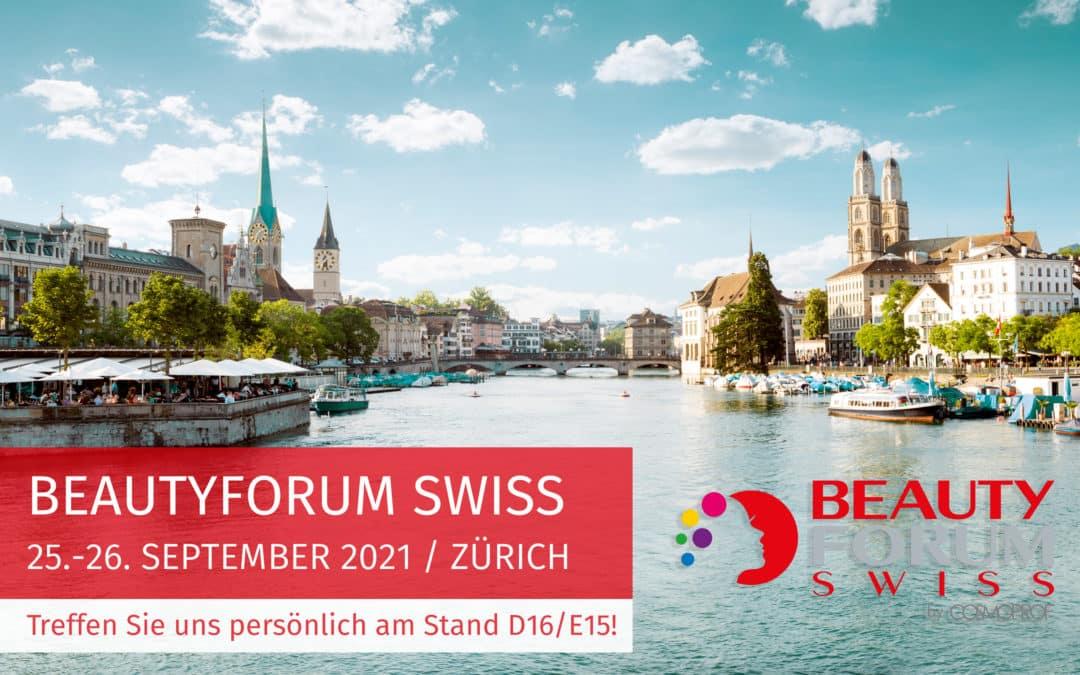 Treffen Sie uns NOON auf der BEAUTY in Zürich!